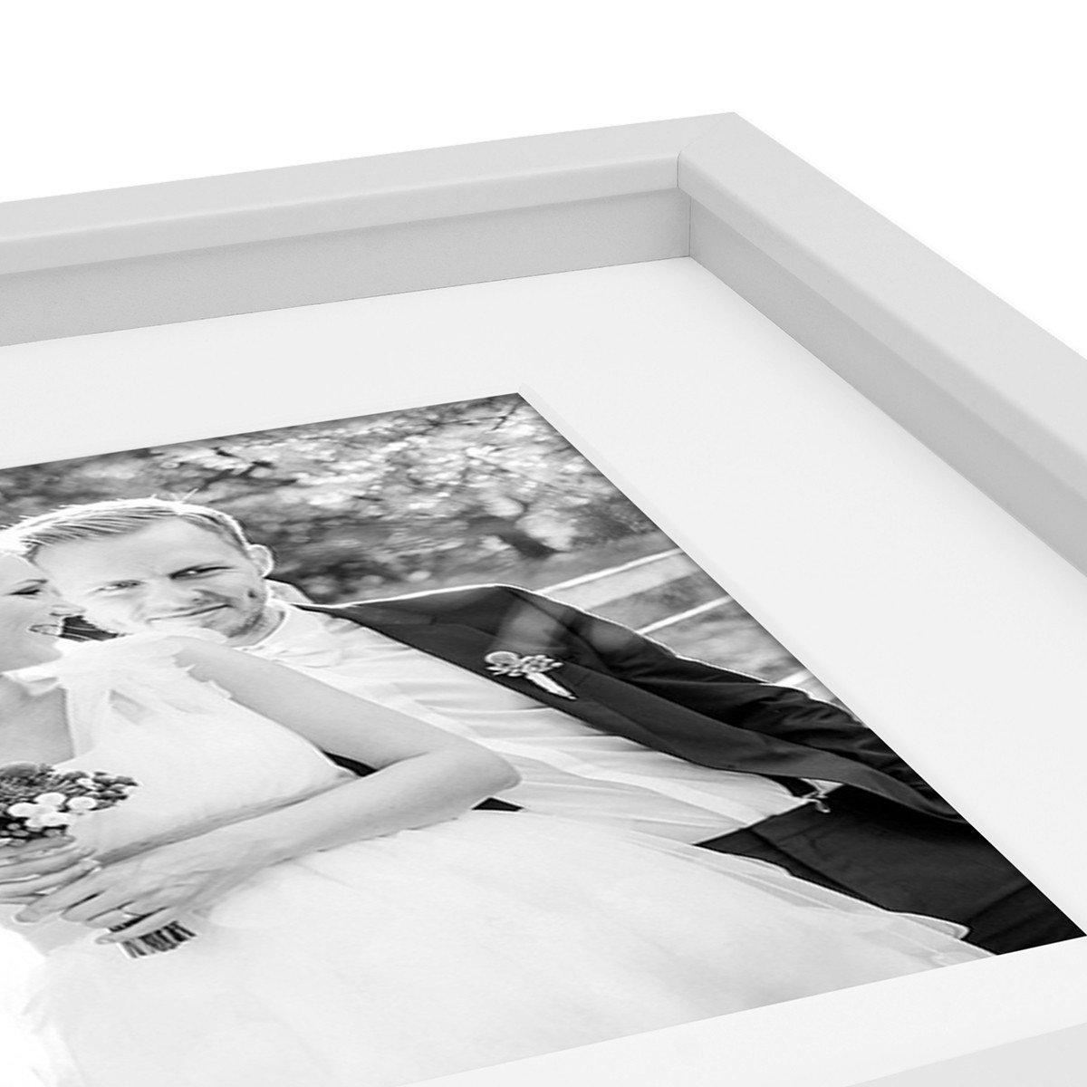 PHOTOLINI 2er Set 3D-Bilderrahmen Objektrahmen 20x20 cm 3D-Rahmen ...