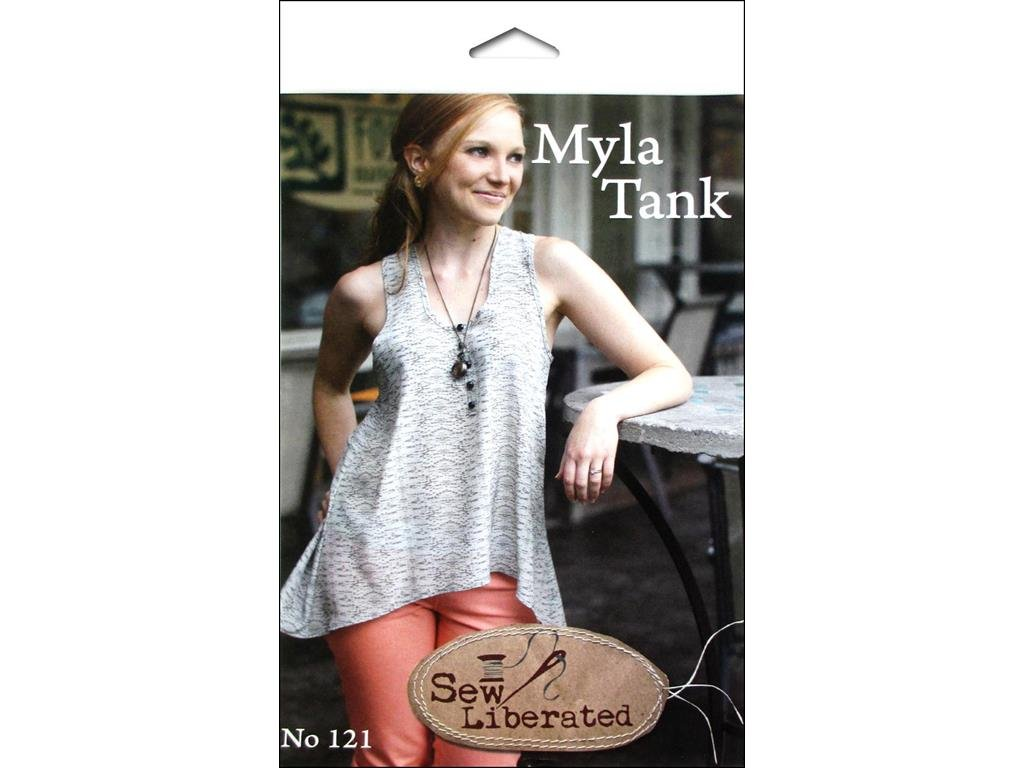 Amazon.com: Sew Liberated Myla Tank Ptrn Pattern