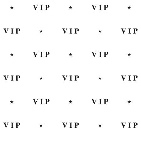 Amazon.com: VIP Backdrop Party Accessory (1 count) (1/Pkg ...