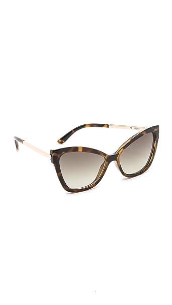 Le Specs Milky tortuga Naked Eyes gafas de sol lente ...