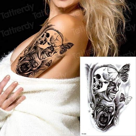 3ps-Robot tattoo hombres tatuaje mecánico boy swallow tattoo black ...