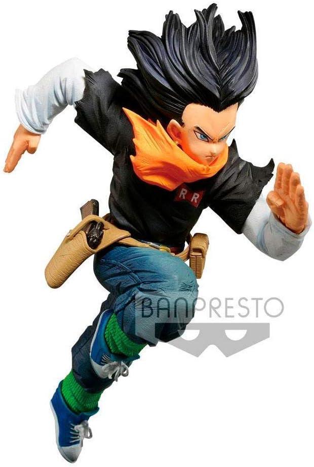 Ban presto Dragon Ball Z Estatua BWFC Androide 17, Multicolor (BANP82978)