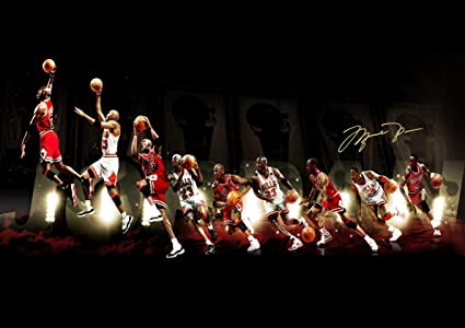 Poster Michael JORDAN Dunk Design Mural Wall Art