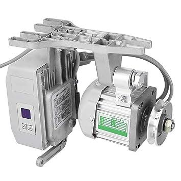 Akozon Maquina de coser industrial, Motor sin escobillas silencioso 550W AC220V: Amazon.es: Hogar