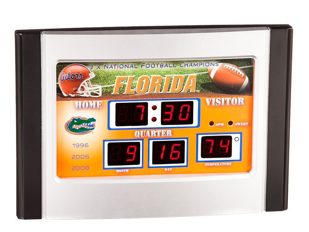 Florida Gators Scoreboard Desk & Alarm Clock