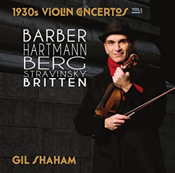 Image result for Gil Shaham, David Robertson, New York Philharmonic - 1930s Violin Concertos Vol. 1