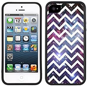 Chevron Nebula Handmade iPhone 5 5S Black Case
