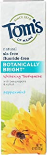 product image for Tom's of Maine Whitening Toothpaste botanically Bright Peppermint 4.7Oz(6 Pack)