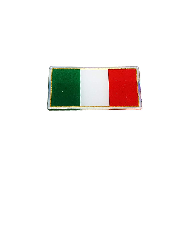 Quattroerre 467 Sticker Bandiera Italia Mm 80X40 3D Quattroerre Italia
