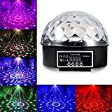 Cade 6 LED Color Changing Disco Dj Stage Lighting LED RGB Crystal Magic Ball Effect Light DMX Light KTV Party