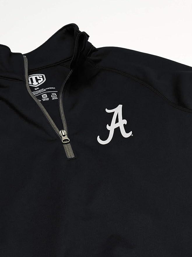 Small Alternative Team Color NCAA Mens Georgia Bulldogs OTS Fleece 1//4-Zip Pullover