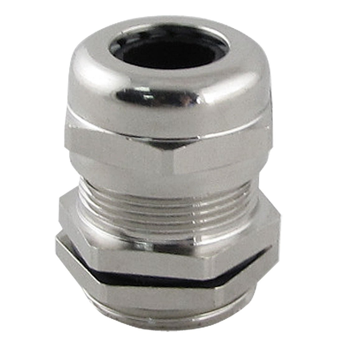 Uxcell a11110200ux0129 Stainless Steel 6.0-12.0mm M20 Cable Gland Connector with Locknut