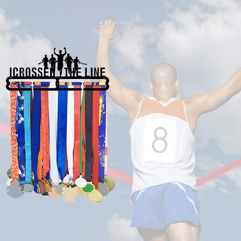 RecoverLOVE Porte-pr/ésentoir pour m/édaille de Sport Support pour m/édaille Support pour Coureur de m/édaille Porte-m/édailles pour r/écompenses du Sport