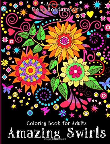 Pdf Crafts Coloring Book for Adults: Amazing Swirls