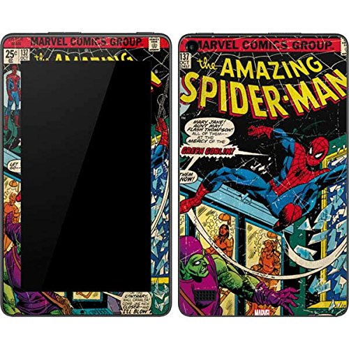 Marvel Comics Kindle Fire (7in, 2015) Skin - Marvel Comics Spiderman Vinyl Decal Skin For Your Kindle Fire (7in, 2015)