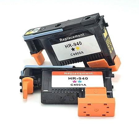 Kitechildhood - Cabezal de impresión para HP 940 Compatible con HP ...