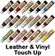 Leather & Vinyl Touch Up Scratch Repair Paint Dye Pen (Ivory)