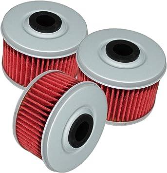 3 Pack Oil Filter FITS HONDA TRX250 TRX-250 TRX 250 FOURTRAX 1985 1986 1987