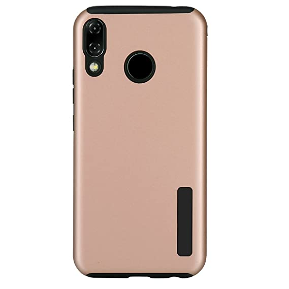 promo code 468a1 001cf Asus ZenFone 5 ZE620KL Case, Zenfone 5z zs620kl Dual Layer Hybrid Rubber  Armor Hard Plastic PC + Soft TPU Shockproof Protective Phone Case For Asus  ...