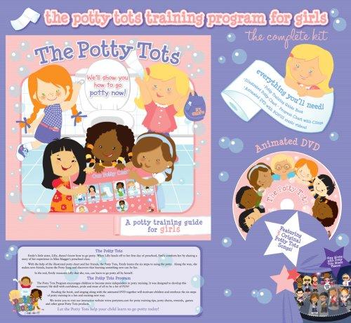 The Potty Tots Potty Training Program For Girls
