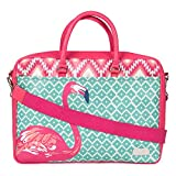 Chumbak Tropical Flamingo Laptop Bag