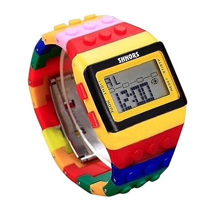 Relojes deportivos. Reloj digital. Reloj unisex colorido digital. Relojes deportivos para el aire libre resistentes al ...