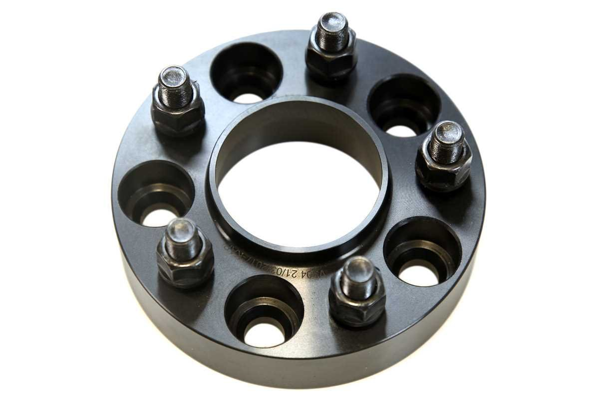 Prime Choice Auto Parts WS54505450I125INX2 Front and Rear Set of Wheel Spacers 1.25 Inch Thick 5x4.5 inch Bolt Pattern