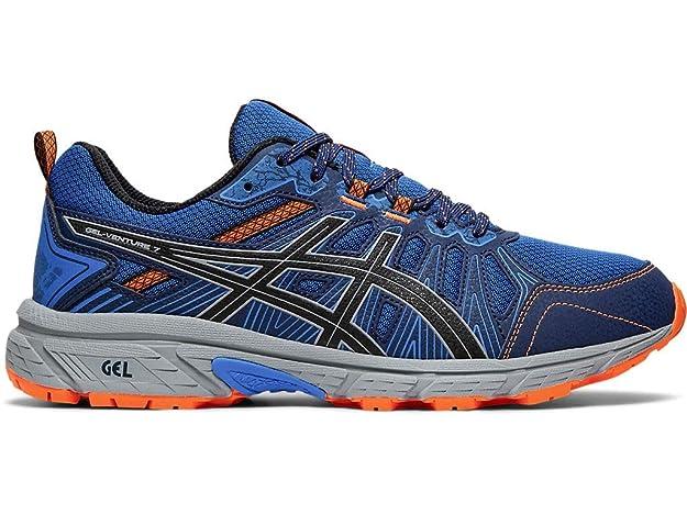 ASICS Men's Gel-Venture 7 Running Shoes, 7M, Electric Blue/Sheet Rock