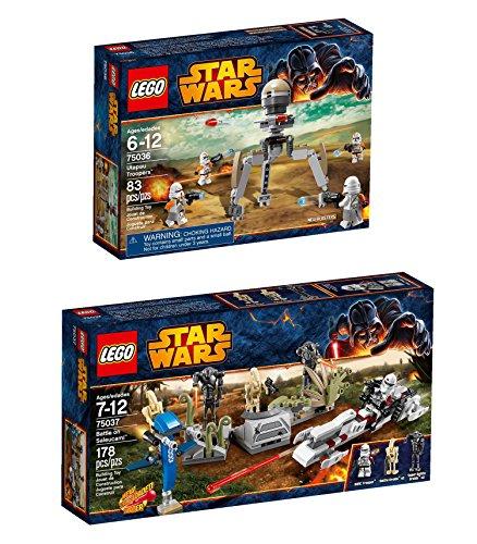 Lego Disney Star Wars Battle on Saleucami and - Lego Star Destroy