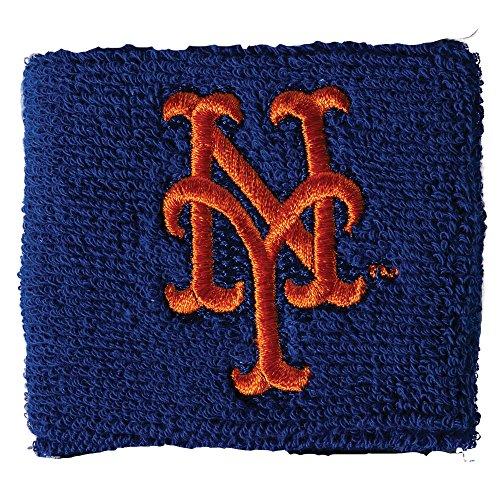 Mlb New York Mets Apparel - Franklin Sports MLB New York Mets Team Wristbands