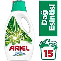 Ariel 15 Yıkama Sıvı Çamaşır Deterjanı Dağ Esintisi Beyazlar İçin