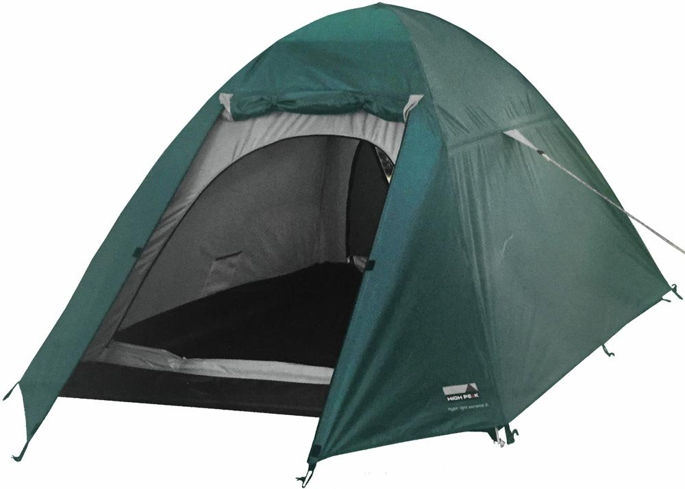 High Peak Outdoors Hyper Light Extreme Tent, Green, X-Large by High Peak Outdoors