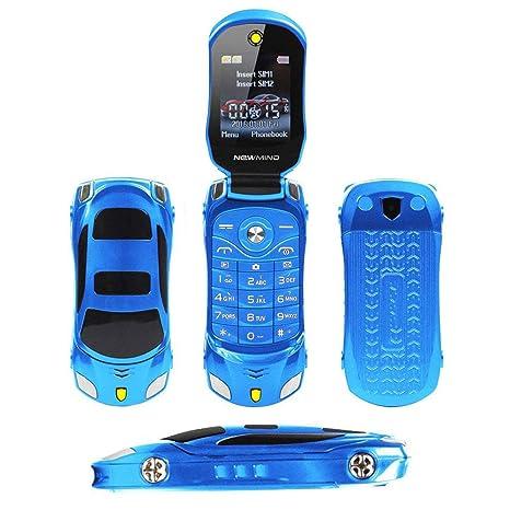 Amazon.com: Peedeu GSM - Teléfono móvil con tapa para ...