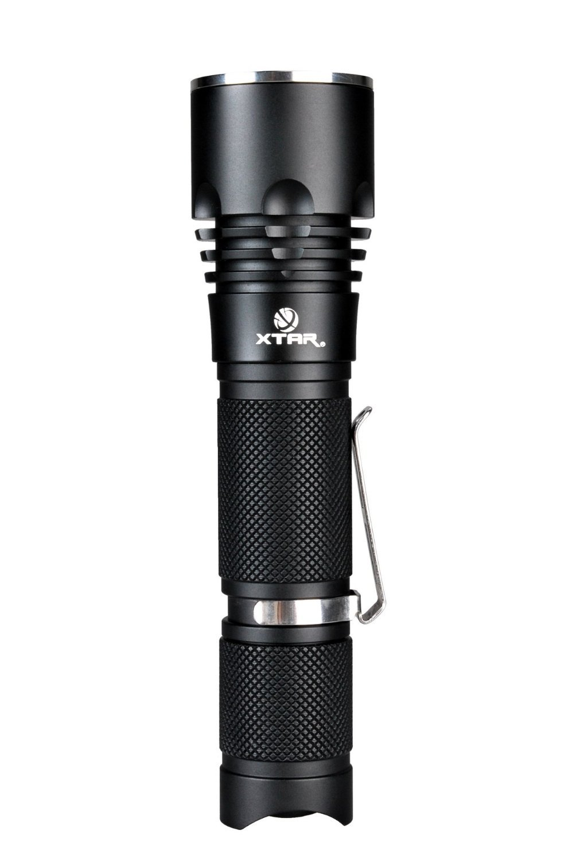 Linterna Xtar B20 Pilot multifuncional de LED CREE XM-L U3 1000 lúmenes, 18650/18700, luz brillante, interfaz simple de usuario, interruptor táctico ...
