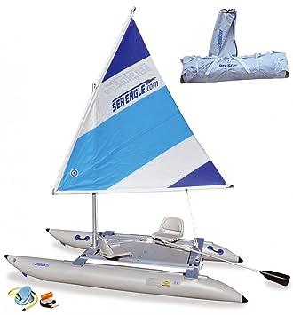 Katamaran kaufen  Sea Eagle 14sc SailCat Comfort Set - Aufblasbares Segelboot ...