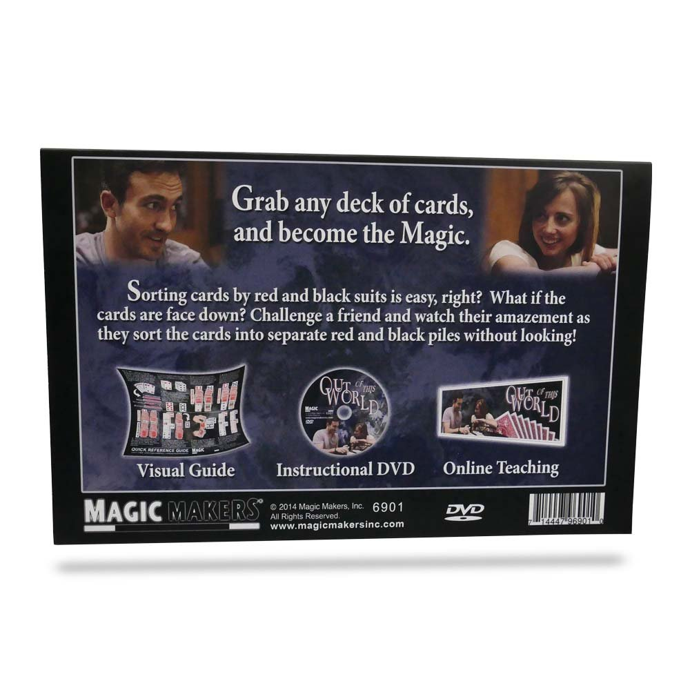 Magic Makers Out Of This World Card Magic Trick by Instructional Card Trick Guide
