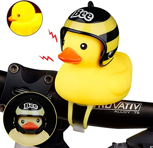 Hamkaw - Timbre de Goma para Bicicleta, diseño de Pato, Color Amarillo: Amazon.es: Hogar