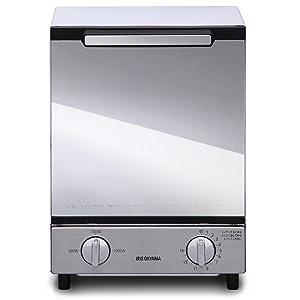 IRIS OHYAMA Mirror oven toaster (vertical type) MOT-012