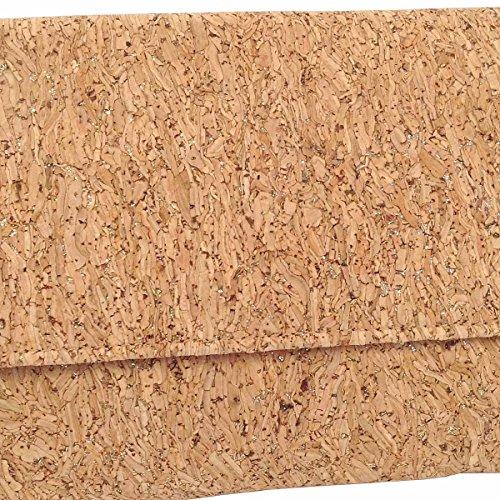 Cork Metallic Clutch Cork Clutch Gold Metallic Gold Metallic tqBx5wYT4