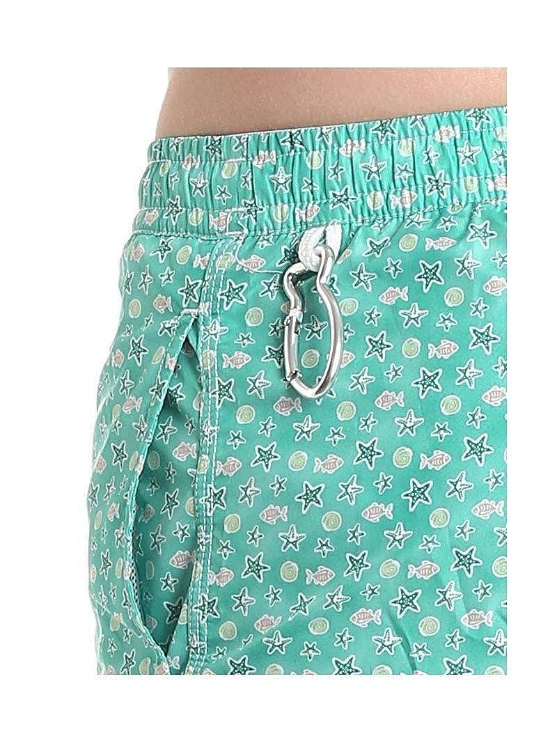 Fedeli Mens 1UE00318B051811 Green Polyester Trunks