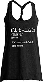 0f607aed75dffb IRISGOD Womens Workout Tank Tops Summer Graphic Twisted Back Gym Sleeveless  Tshirt Tops