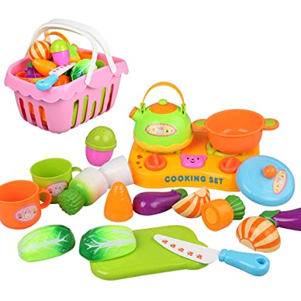 Amazon.com: Huangyingui Kitchenware Set Pretend, Play ...