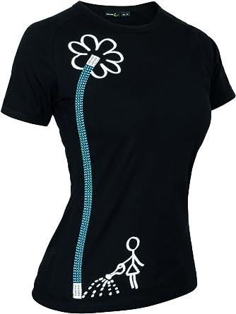 EDELRID Womens Rope T - Camiseta de Escalada
