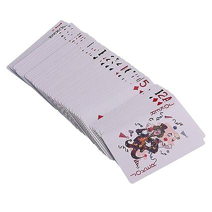 MagiDeal 1 Deck de Carta de Magico de Póker Ilusion ...