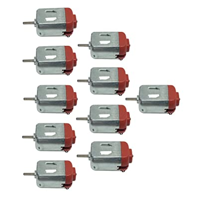 BEMONOC 130 Small Motor DC 3-6V Ultra High Speed DIY Hobby Remote Control Toy Car 10pcs: Home & Kitchen