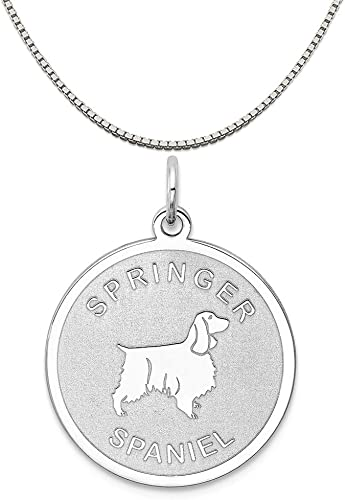 Mireval Sterling Silver Antiqued Horse Shoe Charm on a Sterling Silver Chain Necklace 16-20