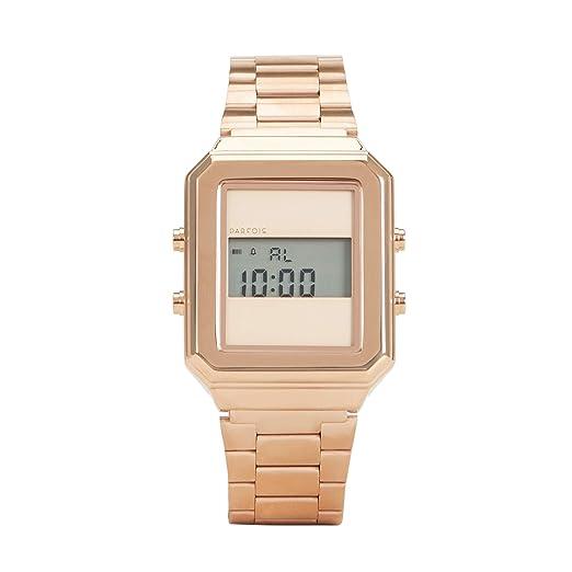Parfois - Reloj Digital Metálico - Mujeres - Tallas Única - Dorado: Amazon.es: Relojes