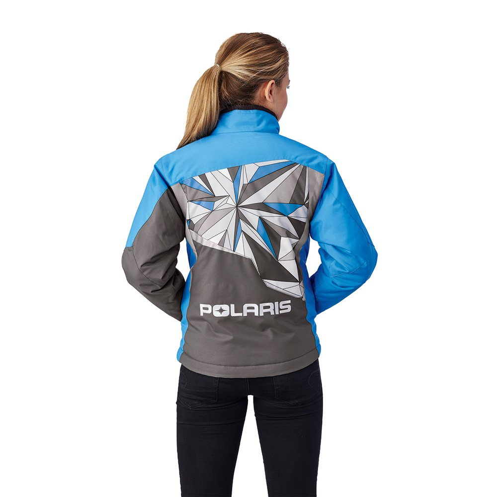 Polaris Girls Youth Diva Jacket Light Blue Large