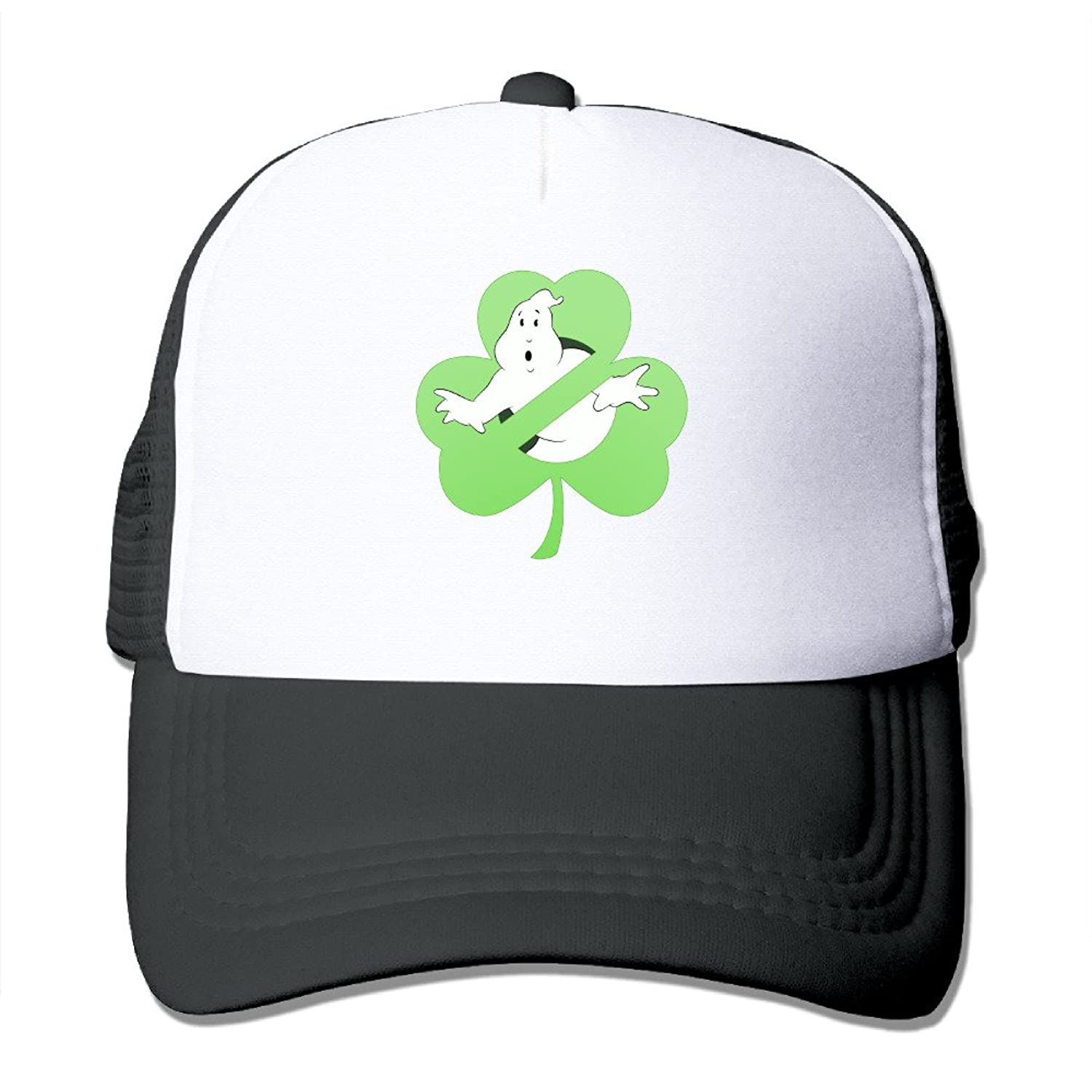 Cool Ghostbusters Irish Division Adult Nylon Adjustable Mesh Hat Mesh Hats Red One Size Fits Most