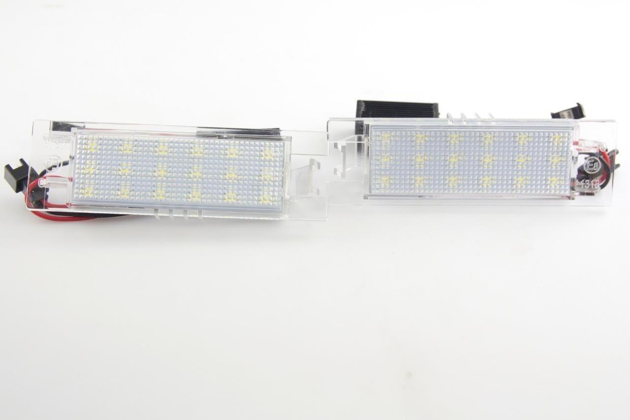 Malibu 2013-2015 Xotic Tech Direct Xotic Tech 2pcs Error Free White LED License Plate Lights Bulbs for Chevy Camaro 2014